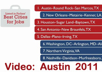 Video about the Austin area economy 2011